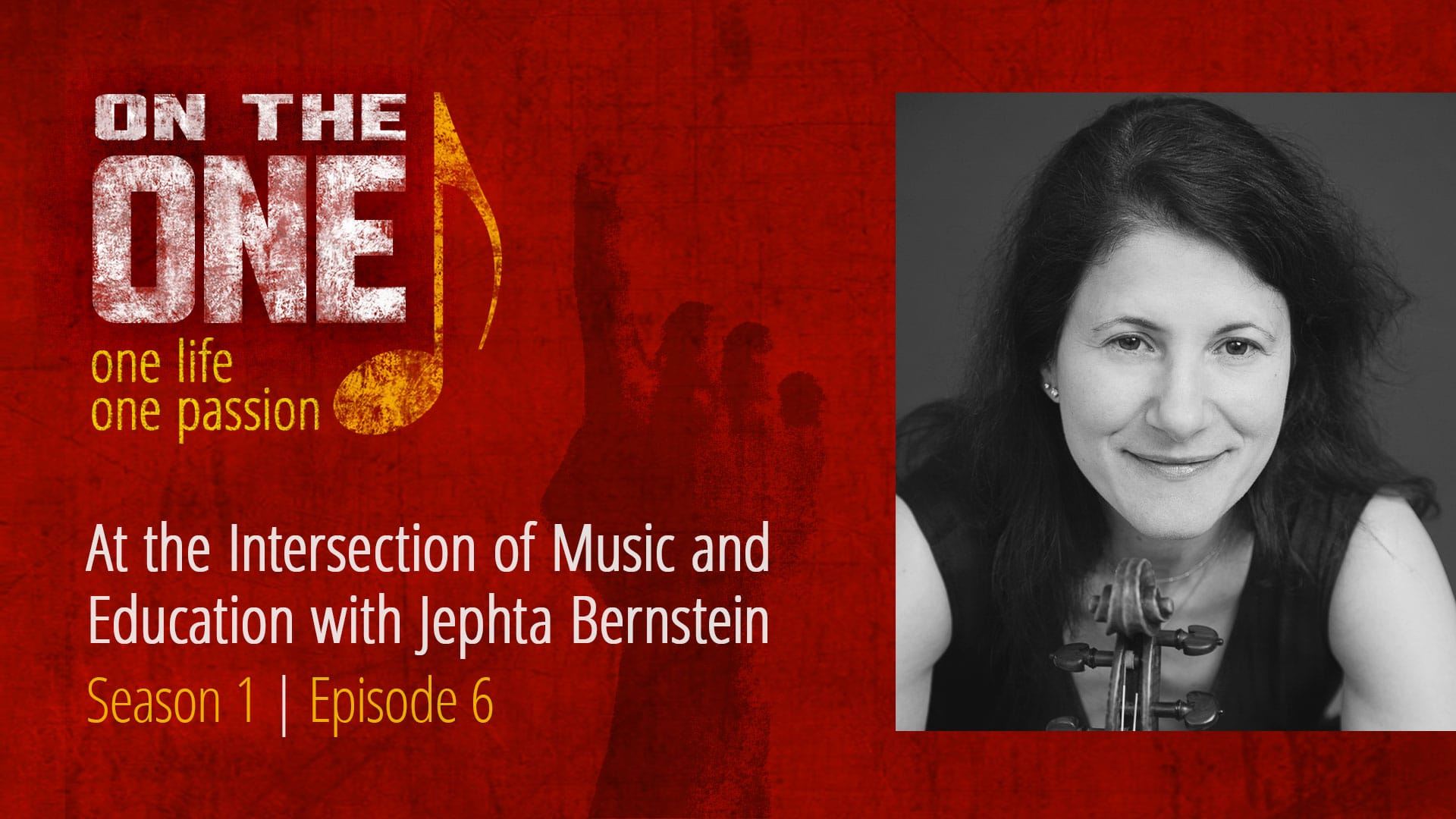 At the Intersection of Music and Education with Jephta Bernstein