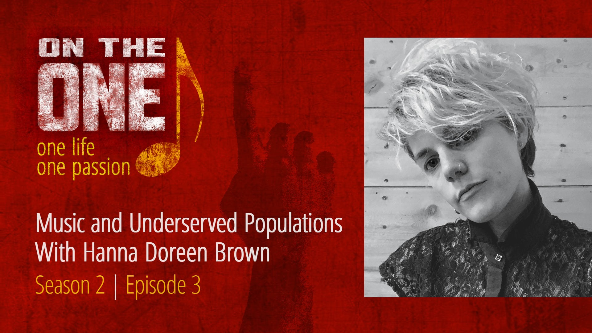 Music and Underserved Populations with Hanna Doreen Brown of Sound Affects in Fort Collins, Colorado.